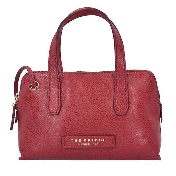 Plume Soft Donna Umhängetasche Tasche Leder 22,5 cm rot