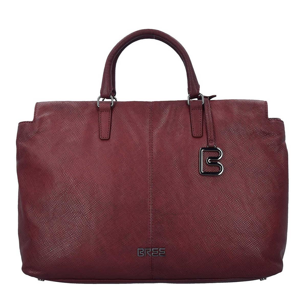 Couco 2 Shopper Tasche Leder 40 cm rot - Bree - Shopper - Taschen - mirapodo.de