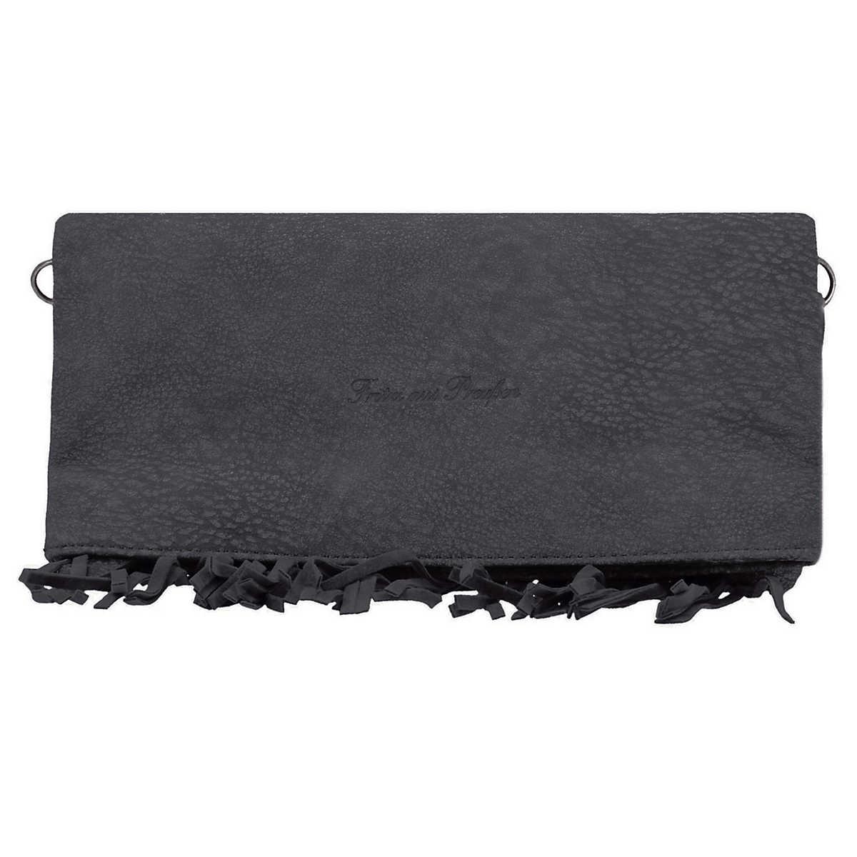 Ronja Fringe Kuba Clutch Tasche 29 cm schwarz - Fritzi aus PreuÃ?Â?en - Clutch & Abendtaschen - Taschen - mirapodo.de