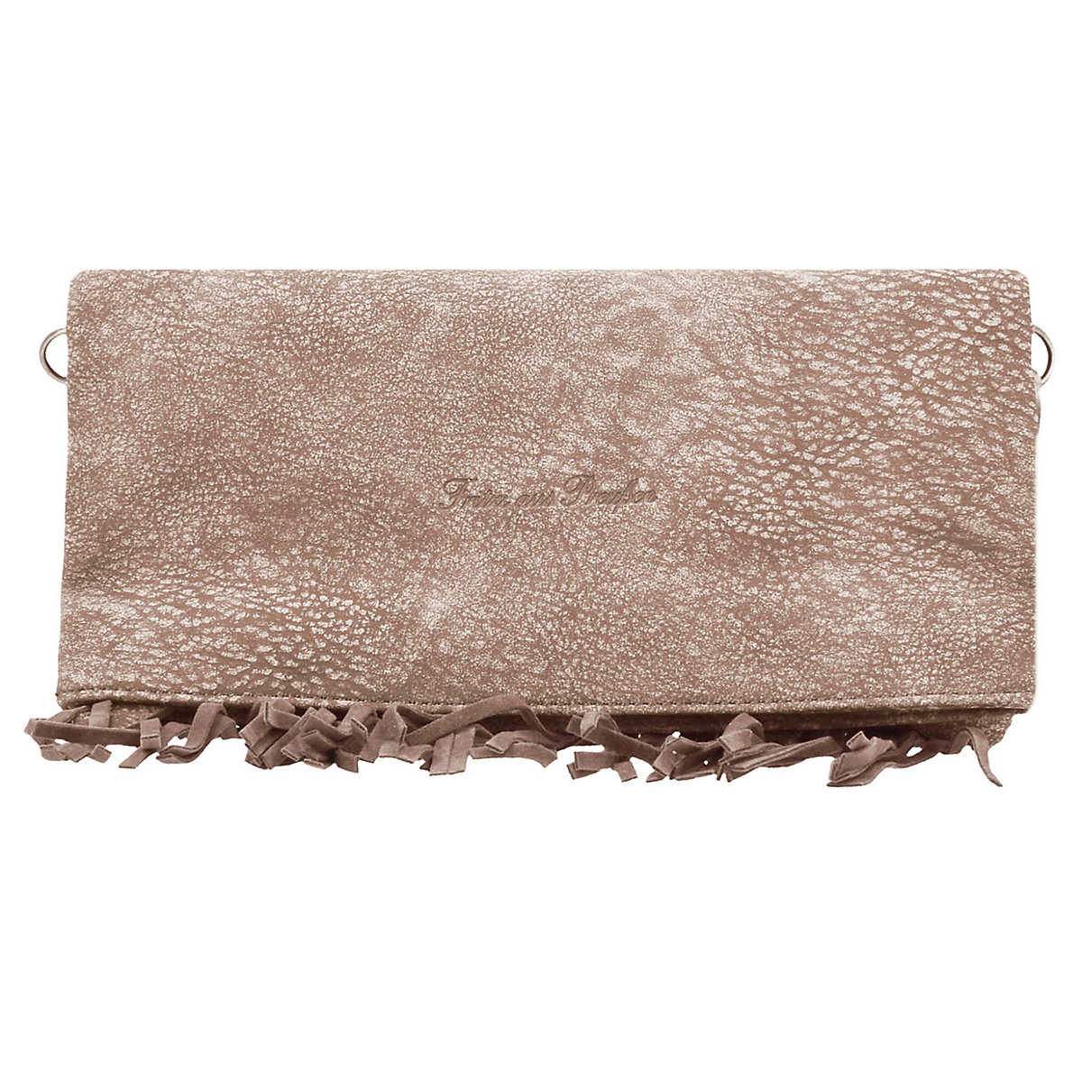 Ronja Fringe Kuba Clutch Tasche 29 cm beige - Fritzi aus PreuÃ?Â?en - Clutch & Abendtaschen - Taschen - mirapodo.de