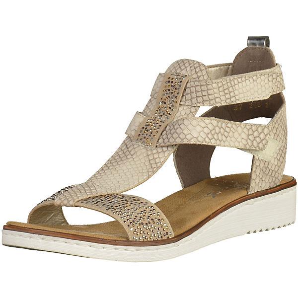rieker Sandaletten beige