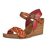 KicKers Sandaletten rot-kombi