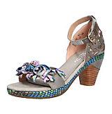 BELINE Fashion Sandalen grau