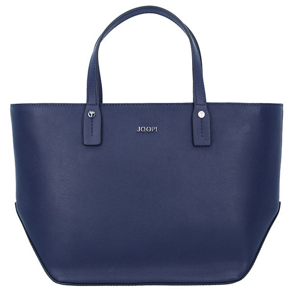 Pure Kornelia Handtasche Leder 34 cm blau
