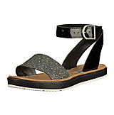 Clarks Sandaletten schwarz-kombi