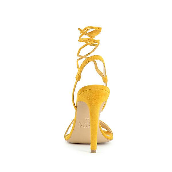 Evita Shoes Sandaletten gelb