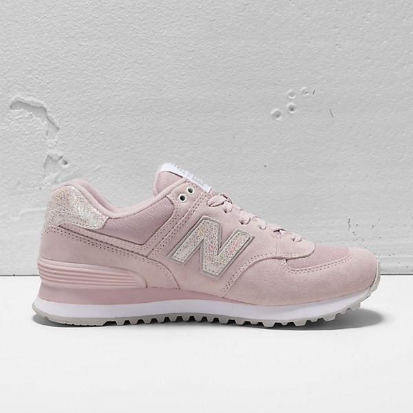 new balance WL574 B Sneakers rosa