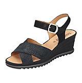 Comfortabel Sandaletten schwarz