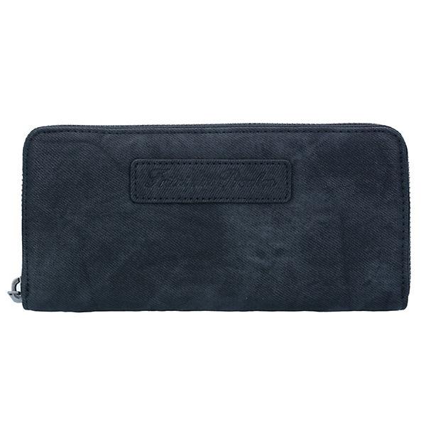 Nicole Canvas Geldbörse 19,5 cm schwarz