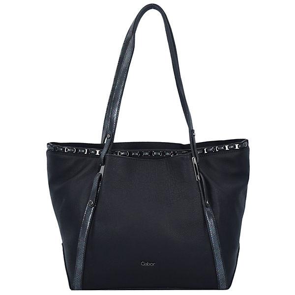 Estelle Shopper Tasche 35 cm schwarz
