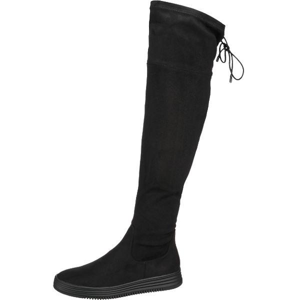 BULLBOXER Stiefel schwarz