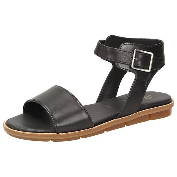 Enada Sandalen schwarz