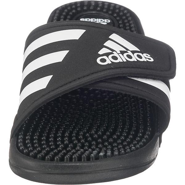 adidas Performance adidas Performance adidas schwarz Pantoletten Adissage schwarz Pantoletten Adissage Performance qwIZI4xC