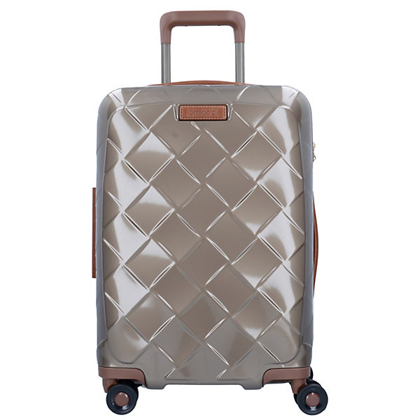 Leather & More 4-Rollen Kabinentrolley 55 cm gold