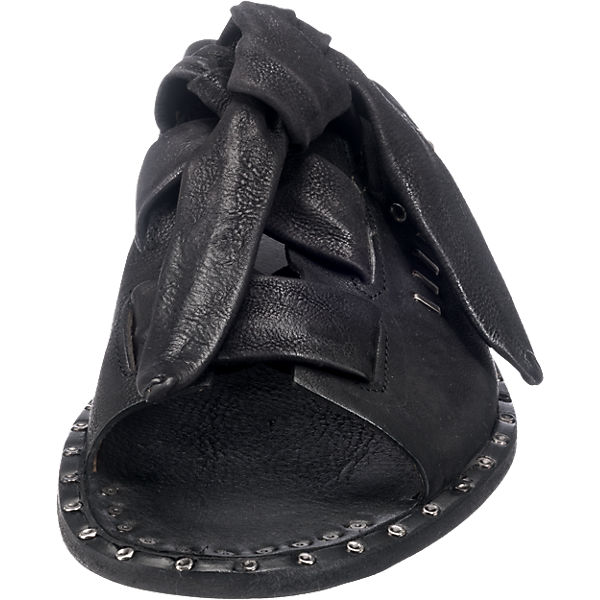 A.S.98 Pantoletten schwarz