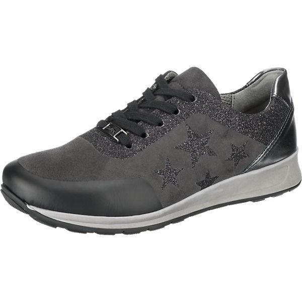 ara Osaka weit Sneakers grau