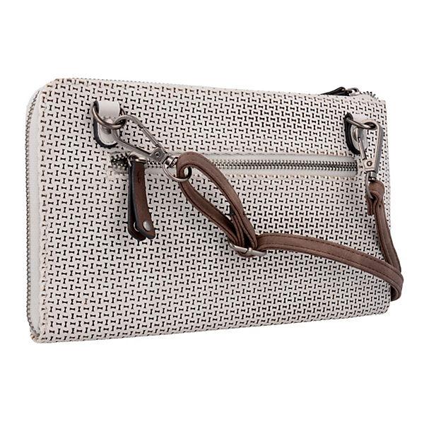 Izzy Clutch Tasche 25 cm beige