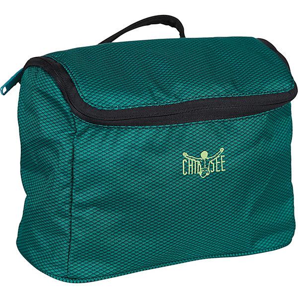 Washbag Kulturtasche 28 cm dunkelgrün