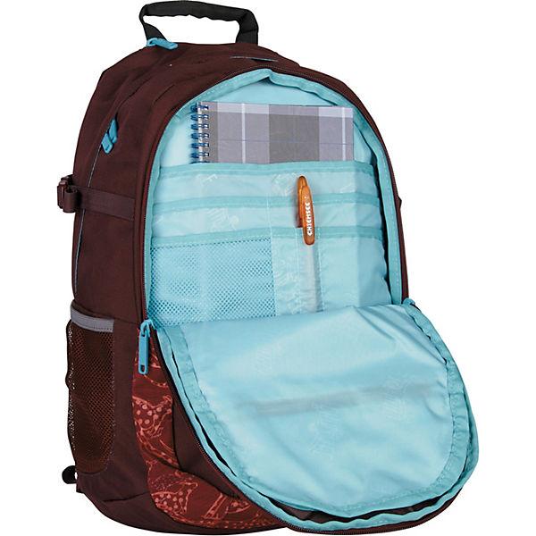 Herkules Rucksack 50 cm Laptopfach mehrfarbig