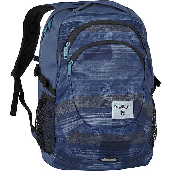 Harvard Rucksack 49 cm Laptopfach blau