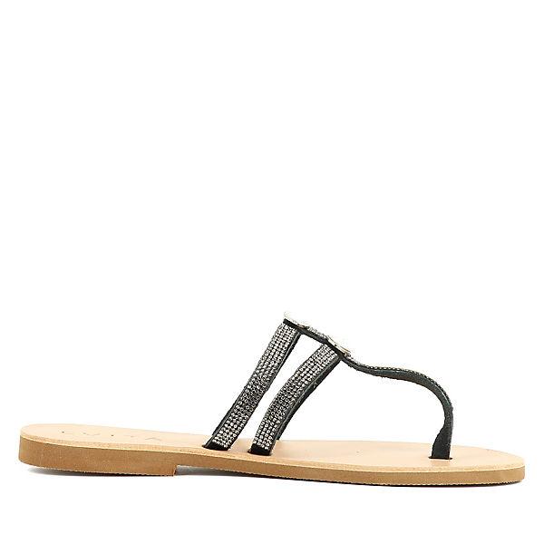 Evita Shoes Sandalen schwarz
