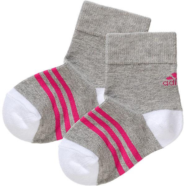 rosa 3er Performance Socken grau adidas Pack Iq07H