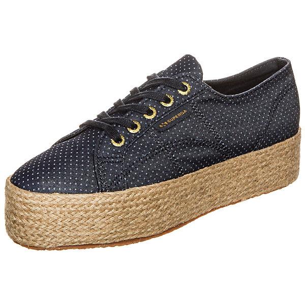 Superga 2790 Fabricshirtropew Sneakers dunkelblau
