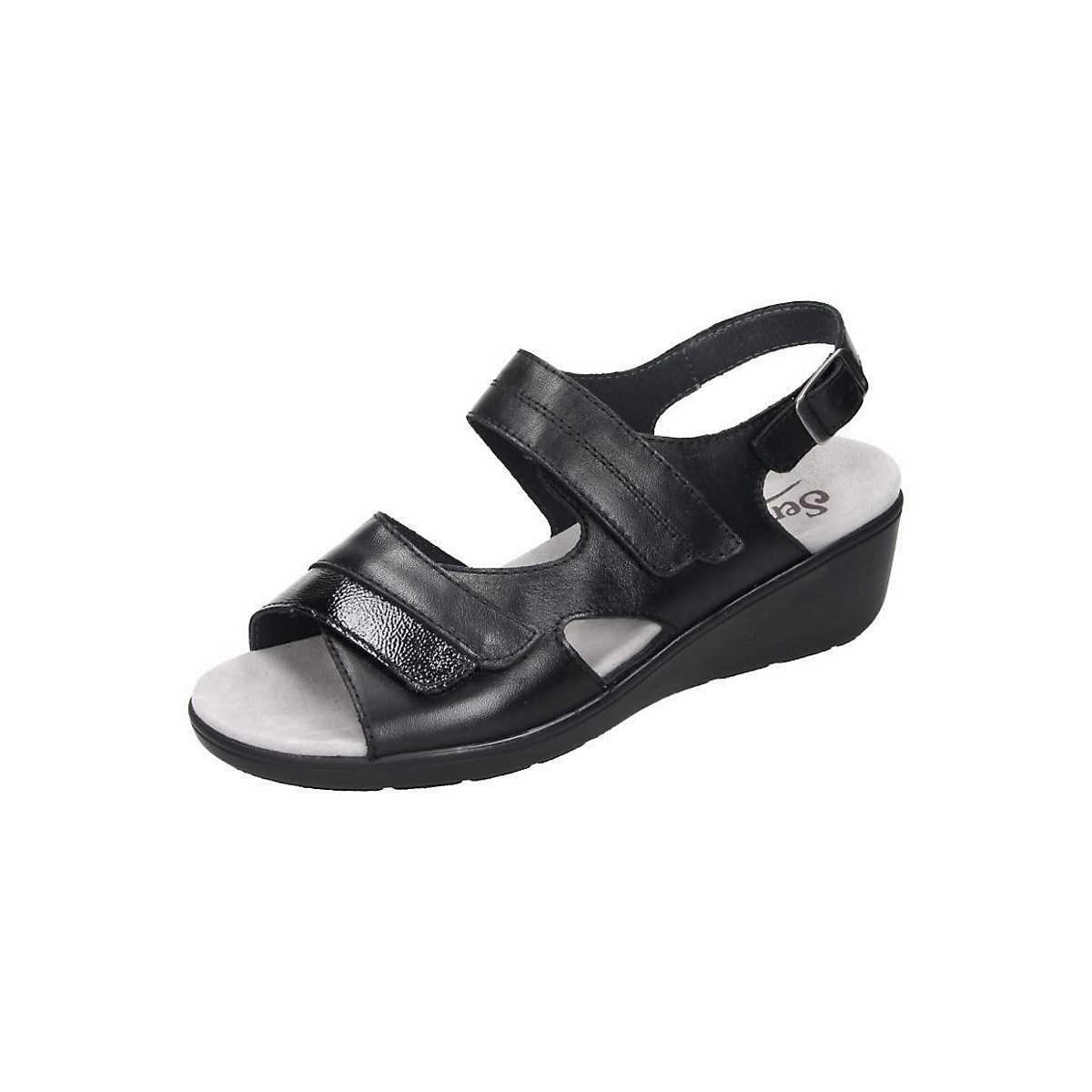 Semler Sandalen schwarz - Semler - Sandalen - Schuhe - mirapodo.de