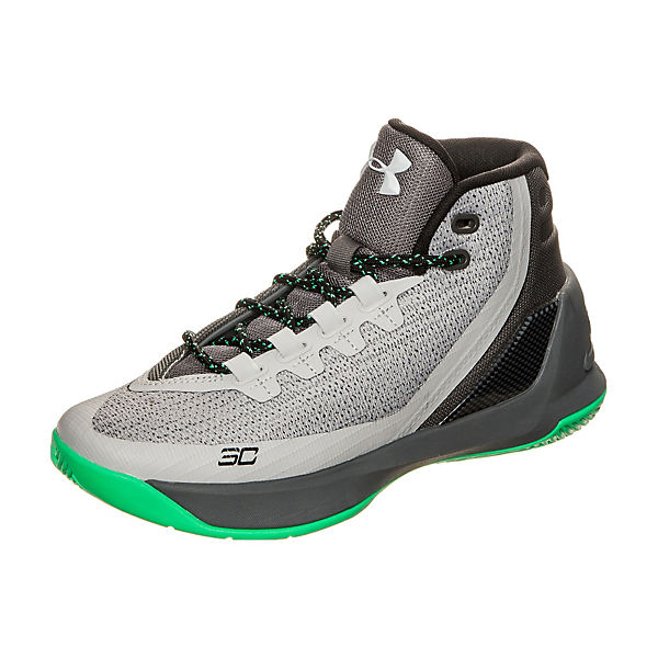 Under Armour Curry 3 Basketballschuhe grau-kombi