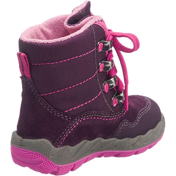 für Winterstiefel Mädchen Baby W5 pink gefüttert Weite TEX superfit GORE ICEBIRD Sxtptqa