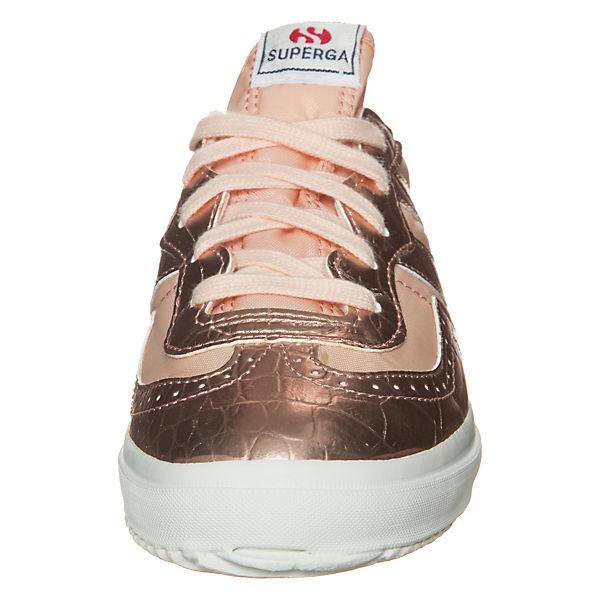 Superga 2832 Metcrow Sneaker braun-kombi