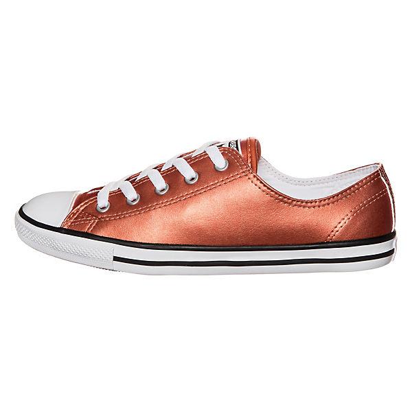Converse Chuck Taylor All Star Dainty Metallic OX Sneaker kupfer