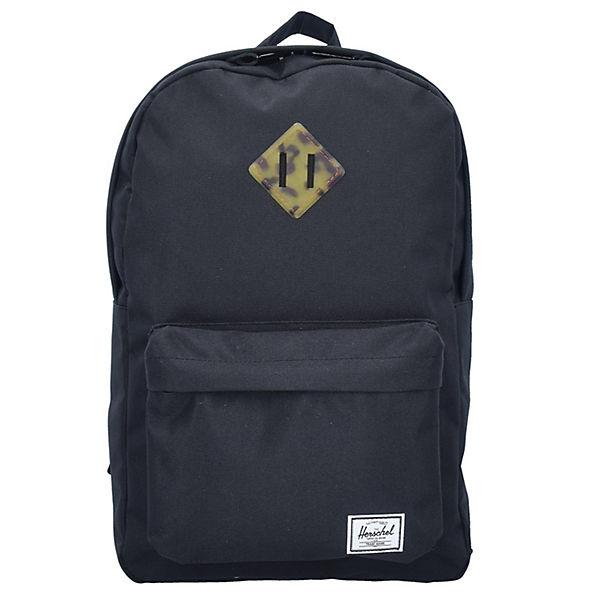 Heritage Mid Volume Backpack Rucksack 40 cm Laptopfach schwarz