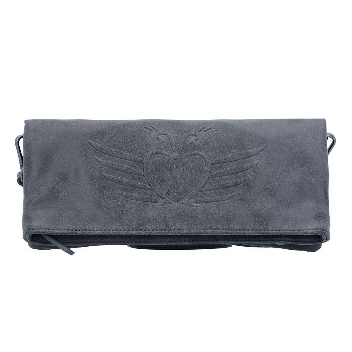 Ronja BW Vintage Clutch Umh�¤ngetasche 29 cm schwarz - Fritzi aus Preu��en - Clutch & Abendtaschen - Taschen - mirapodo.de