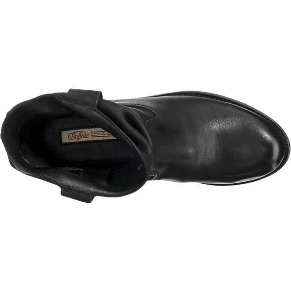 BUFFALO Stiefeletten schwarz