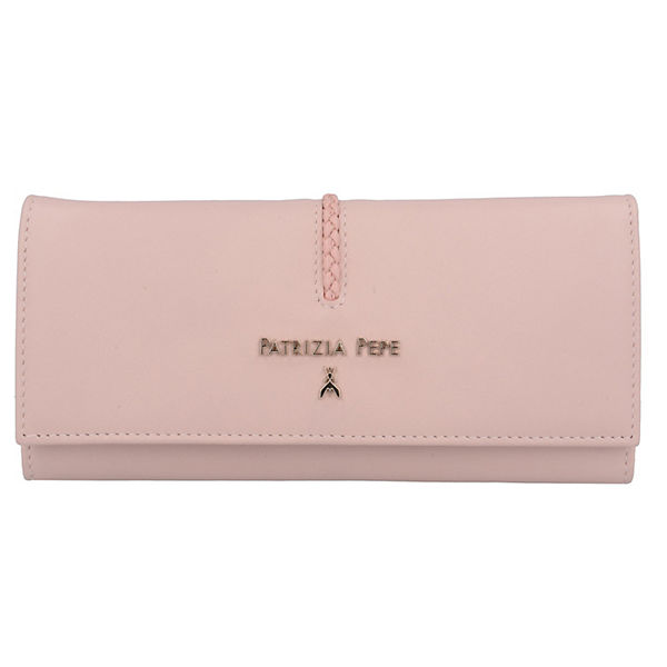 Geldbörse II Leder 19 cm rosa