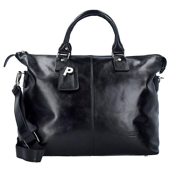 PICARD Weekend Weekender Reisetasche Leder 48 cm schwarz