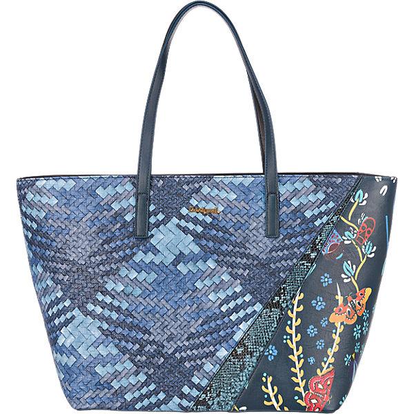 Desigual Shopper blau-kombi
