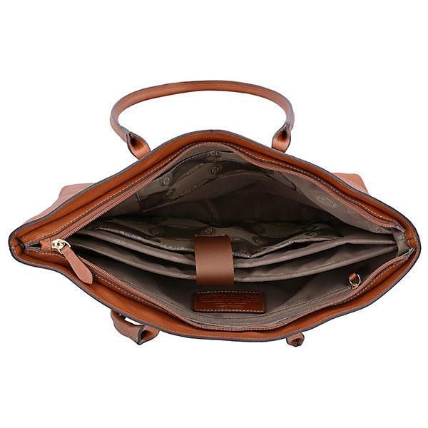 Bric's Life Pelle Aktentasche Leder 39 cm Laptopfach braun