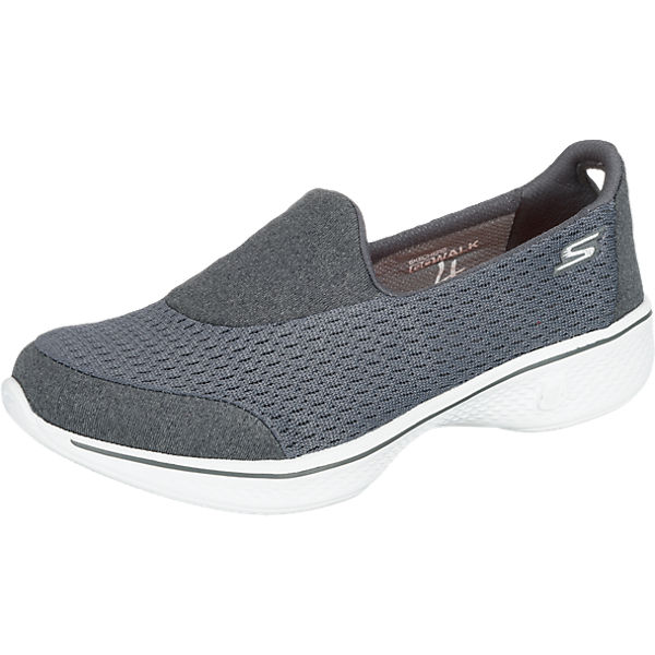 SKECHERS Go Walk 4 Pursuit Sneakers grau