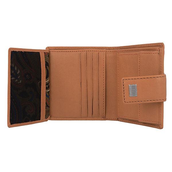 Mano Geldbörse 10 cm Leder braun