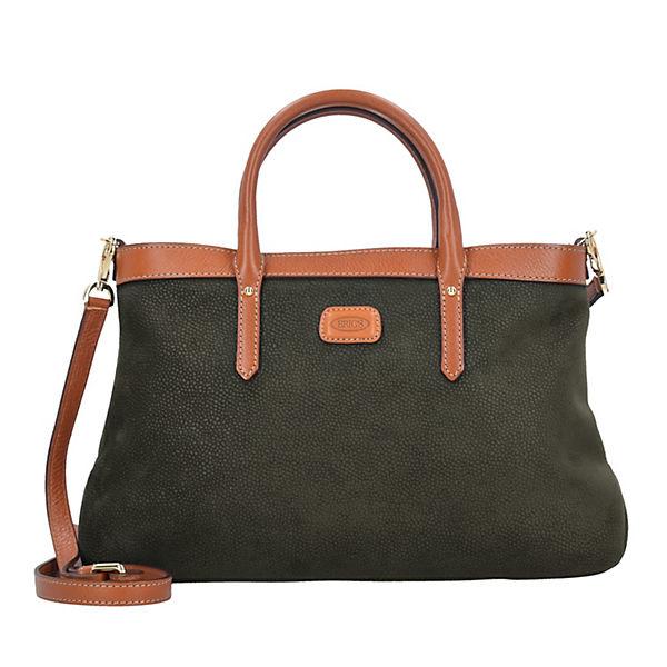 Bric's Life Allegra Handtasche 36 cm dunkelgrün
