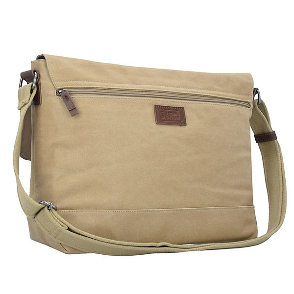 camel active Bali Messenger 38 cm Laptopfach beige