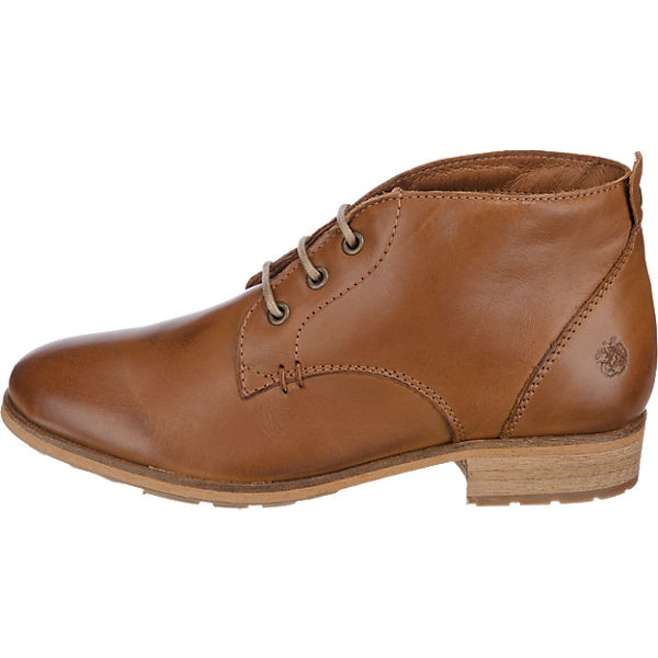 Apple of Eden Bruna Stiefeletten cognac