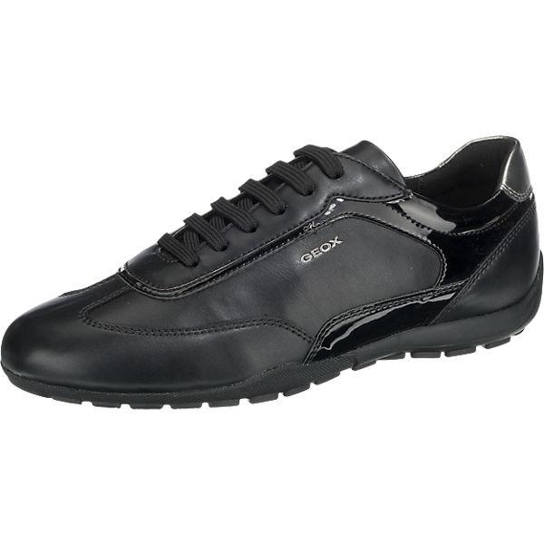 GEOX Ravex Sneakers schwarz