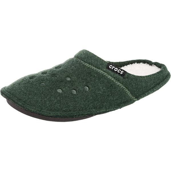 CROCS Classic Slipper Hausschuhe grün