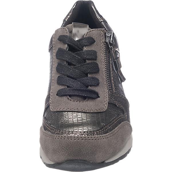 TOM TAILOR Sneakers grau