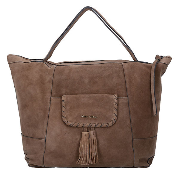MARC O'POLO Shopper Rieke L Handtasche Leder 39 cm braun