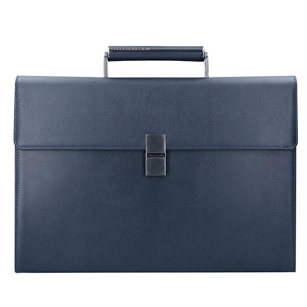 porsche design porsche design saffiano briefbag fs. Black Bedroom Furniture Sets. Home Design Ideas