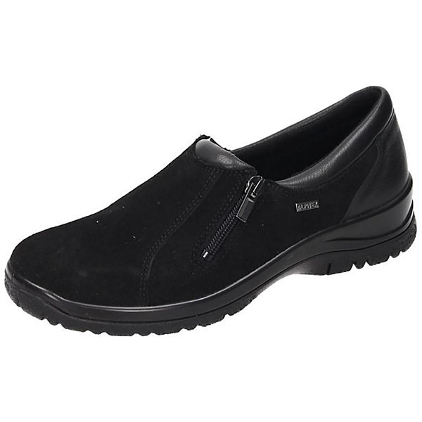 Comfortabel Damen Slipper schwarz